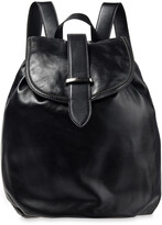 Thumbnail for your product : Brunello Cucinelli Bead-embellished Leather Backpack