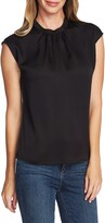 Vince Camuto Pleated Neck Blouse