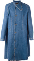 J.W.Anderson midi denim coat - men - Cotton - 48