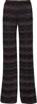 Missoni Crochet-knit wide-leg pants