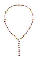 Alasia Anemoni Line Drop Necklace