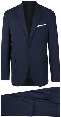 Neil Barrett Notched Lapels Tailored Suit