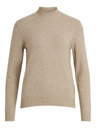 Vila Women's VIRIL Turtleneck L/S Knit TOP-NOOS Sweater