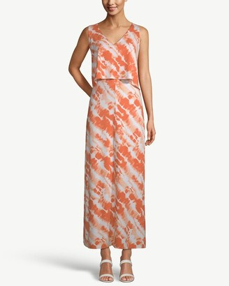 Chico's Sleeveless Overlay Maxi Dress