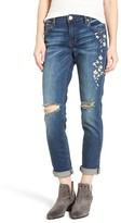Women's Sts Blue Talor Embroidered Tomboy Jeans