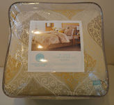 Martha Stewart Nip Noble Scroll 9pc Comforter Set Queen $340