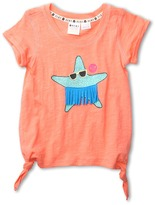 Roxy Kids - Watch Out Top (Toddler/Little Kids) (Watermelon) - Apparel
