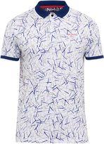 Ted Baker Slice Golf Club Print Polo Shirt