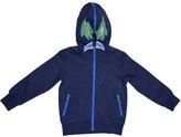 Stella McCartney Bandit Fleece Track Jacket, Midnight Melange, Size 4-10