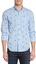 Bonobos Men's Slim Fit Summerweight Mermaid Print Sport Shirt