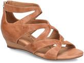 Sofft Women's Sandals LUGGAGE - Luggage Regan Leather Sandal - Women