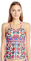 Nanette Lepore Women's Antigua Honey Tankini Top