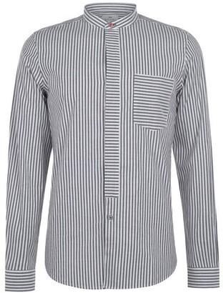 Paul Smith Grandad Oxford Long Sleeve Shirt