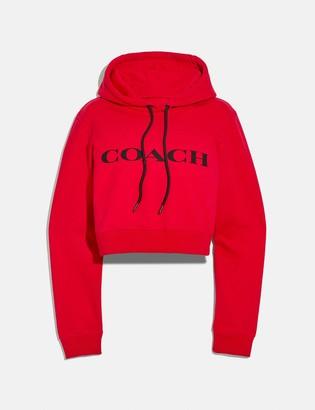 Coach Cropped Sweatshirt