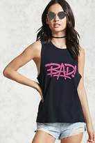 Forever 21 Bad Graphic Muscle Tee