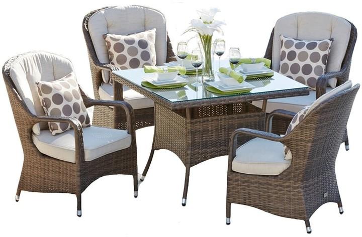 Set Rattan Patio Furniture Dining, Patio Furniture Direct