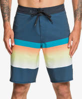 Quiksilver Men's Board Shorts MAJOLICA - Majolica Blue High Slab Board Shorts - Men & Big