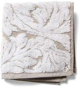 Kassatex Foglia Washcloth - Taupe