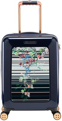 Ted Baker Take Flight Small 4 Wheel Suitcase Pergola Stripe