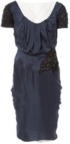 Christian Lacroix Blue Silk Dress for Women