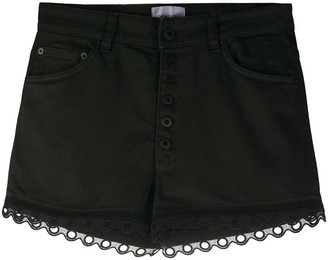 Dondup Denim Eyelet Shorts