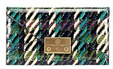 Tory Burch Juliette Printed Patent Envelope Pouch