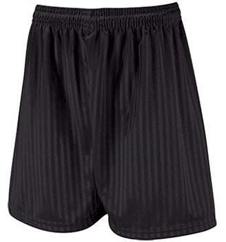 School Uniform Shadow Stripe Long Leg Boys Shorts