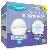 Lansinoh Day & Night Multipack Breast Pads - White