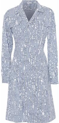 Tomas Maier Printed Cotton-blend Poplin Dress