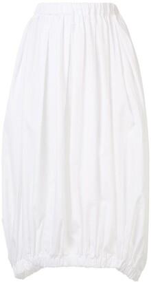 Comme des Garçons Comme des Garçons Pleated Elasticated Waist Skirt