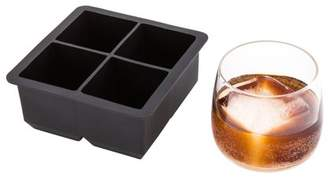 "Restaurantware Silicone Ice Tray / Mold - 2"" Cube - 4 Molds - 1 Count Box"