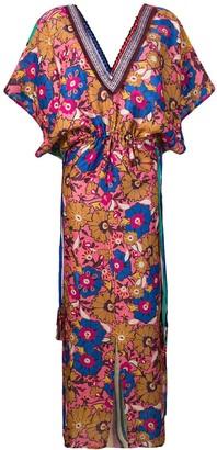 Ariella printed maxi dress