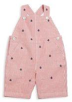 Ralph Lauren Baby's Anchor Seersucker Overalls