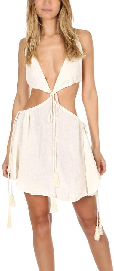 Jens Pirate Booty Cape Verde Mini Dress