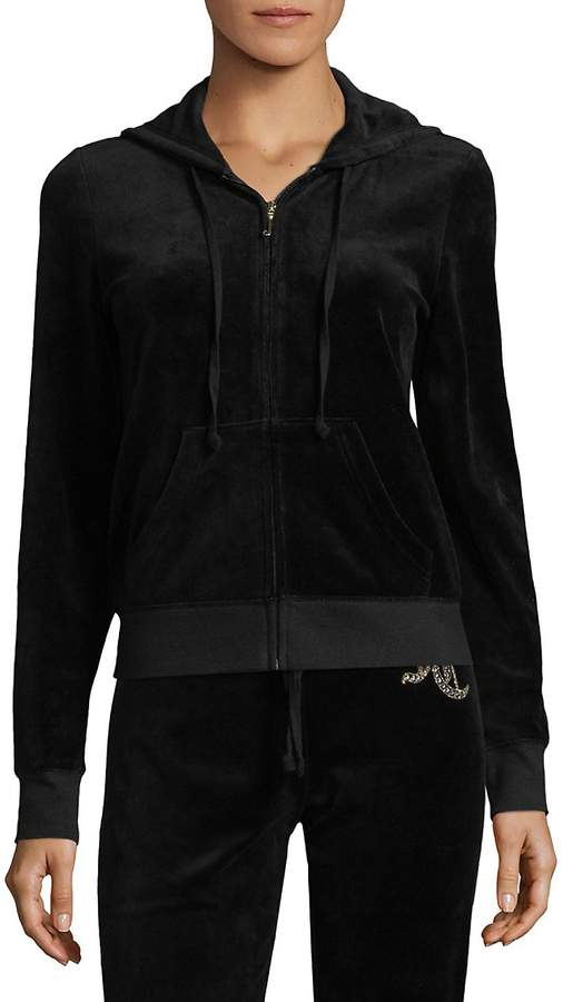 Juicy Couture Women's Velour Track Jacket