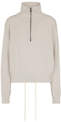Varley Buckingham cotton knit sweatshirt