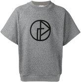 Gosha Rubchinskiy logo print T-shirt - men - Cotton - XS