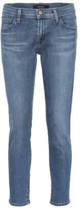 J Brand Sadey mid-rise straight jeans