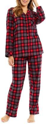 Sleep Nation Plaid 2-Piece Pyjama Set