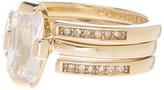 Cole Haan CZ Embellished Ring Set - Size 7