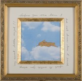 The Well Appointed House Bunny Cloud Child's Framed Wall Art