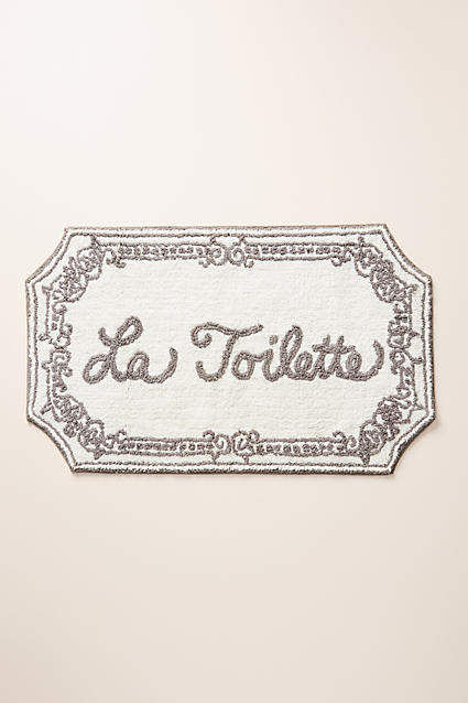Anthropologie La Toilette Bath Mat