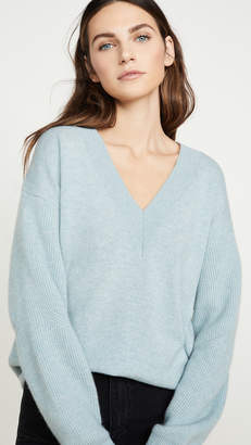 Rag & Bone Logan Cashmere V Neck Sweater