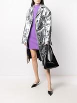 Thumbnail for your product : Kwaidan Editions Mock Neck Shift Dress