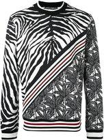 Dolce & Gabbana multi-print sweatshirt