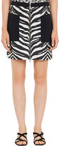 Ungaro WOMEN'S ZEBRA JACQUARD MINI SKIRT