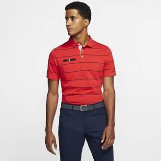 Nike Men's Striped Golf Polo Dri-FIT Player