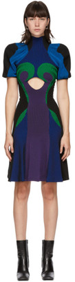 Paolina Russo SSENSE Exclusive Multicolor Knitted Battle Dress
