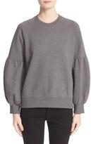 Burberry Women's Bell Sleeve Sweatshirt