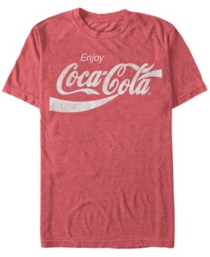 Coca Cola Coca-Cola Men's Vintage-Like Enjoy Coca-Cola Short Sleeve T-Shirt